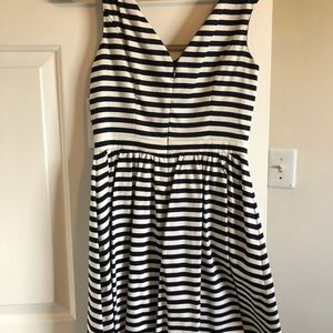 Zara MIDI Striped Dress- Casual